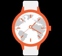 6. - 30. miesto: hodinky s cestovateľským dizajnom